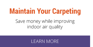 maintain your carpeting