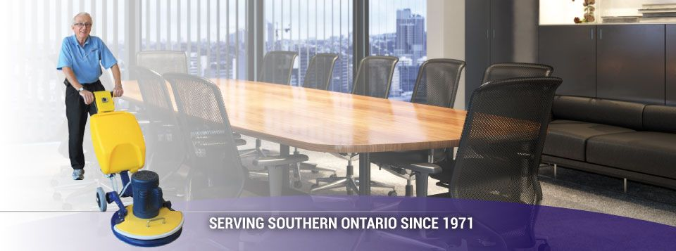 Serving Southern Ontario since 1971 | conference room cleaning